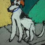 Pet portraits pastels