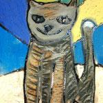 Pet portrait pastels