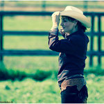 "Sarah Conner als ""Cowgirl"""