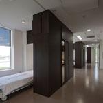 プライベートを確保 手術後は同じ階の手術室にすぐ移動可能