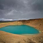 Viti volcanic crater - Iceland