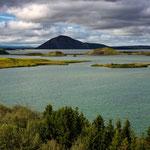 Mývatn Lake from Höfði - Iceland