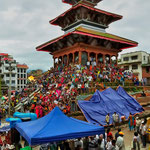 Festa a Durbar square, Kathmandu - Nepal