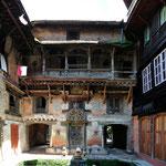 Tipico cortile nepalese, Bhaktapur - Nepal