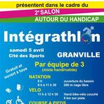 Affiche de l'Intégrathlon.