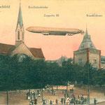 Alte Bonifatiuskirche mit Marienhospital
