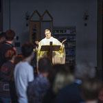 Pastor Stephan Markgraf leitet die Jugendkirche Tabgha. (Foto: Alexandra Roth   Bistum Essen)