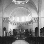 Innenansciht der neuen Bonifatius-Kirche 1937