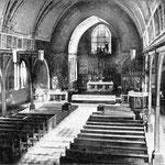 Innenansicht der alten Bonifatiuskirche