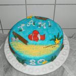 Fisch Torte - Juni 2010 - für Tami