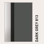 Behangfarbe dunkelgrau für PVC-Schnelllauftore