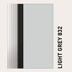 Behangfarbe lichtgrau für PVC-Schnelllauftore