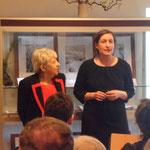 Begrüßung Dr. Regina Heilmann vom Stadtmuseum