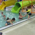 YMCA - Pool, nur einer von 4