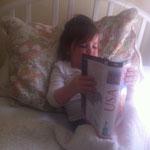 Eine ganz große Leserin :)