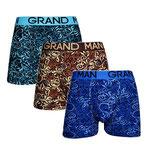 Grand Man 5006 krul boxer 3-pack