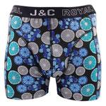 J&C 237 limoen boxer zwart