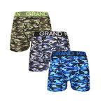 Grand Man 5043 army boxer legerprint 3pack