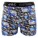 J&C 238 marmer boxer blauw