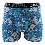 J&C 241 bliksem boxer turquoise