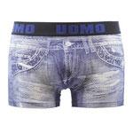 UOMO 2610 Jeans boxer donkerblauw
