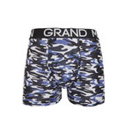Grand Man 5043 army boxer legerprint grijs