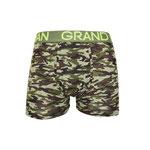 Grand Man 5043 army boxer legerprint groen