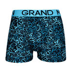 Grand Man 5006 krul boxer turquoise