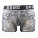 UOMO 2610 Jeans boxer grijs