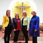 v.l.n.r. Katharina Hendling; Judith Schweighofer, Andrea Schneider, Birgit Hauer