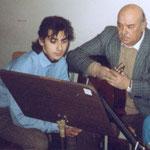 A lezione con il M° Eduardo Caliendo