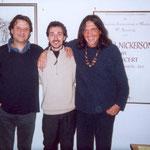 con Antonio Onorato e Aldo Farias