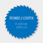 Brennholzschuppen in Dommatzen/Wendland, Zimmerei 862 GmbH