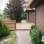 Terrasse in Brake/Golzwarden, Zimmerei 862 GmbH