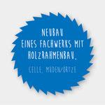 Neubau: Fachwerk mit Holzrahmenbau kombiniert in Celle, Müden/Örtze, Zimmerei 862 GmbH