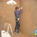 Energetische Sanierung von innen mit Lehmbau in Brake, Zimmerei 862 GmbH
