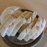 Brot dazu für die leckere Sauce