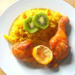 Ingwer-Zitronen-Huhn ein Rezept von Crea Food