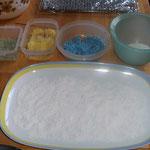 Vorbereitung Cake Pops