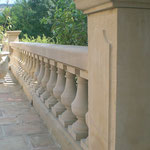 balustrade en pierre