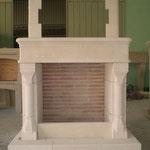 cheminée gothique
