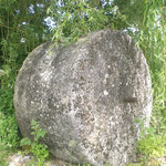 meule en granit ancienne