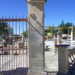 piliers en pierre naturelle