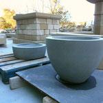 vasques en pierre
