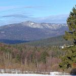 Nationalpark Bayerischer Wald: Blick zum Rachel