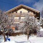Haus Hildegard: Südansicht Winter