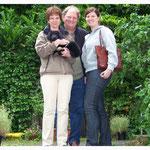 Brisco mit Ulrike, Holger und Sabrina
