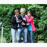 Branca mit Nicole, Mathias und den Kindern
