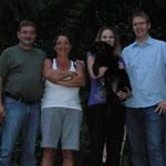 Belissa mit Familie Klein