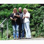 Baily mit Vanessa,Angela und Wolfgang